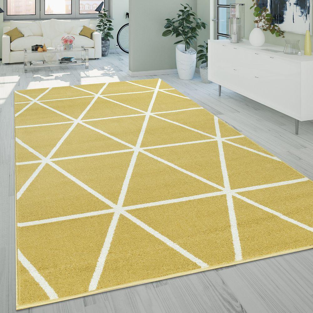 Kurzflor Teppich Skandi Muster Wohnzimmer Teppich Teppich Wohnzimmer Shaggy Teppich