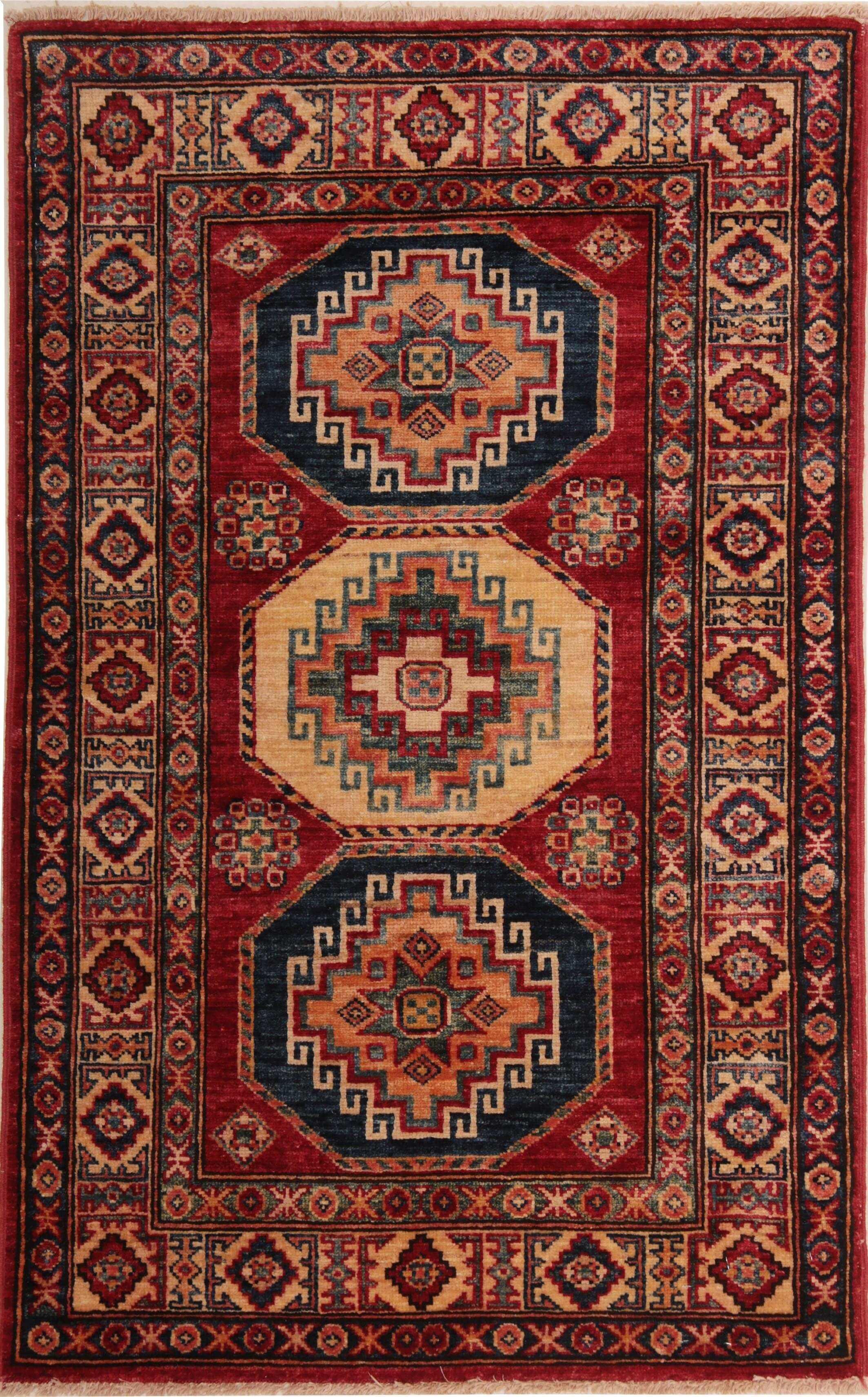 Kazak Rug 273702 Rugs On Carpet Afghan Rugs Silk Rug