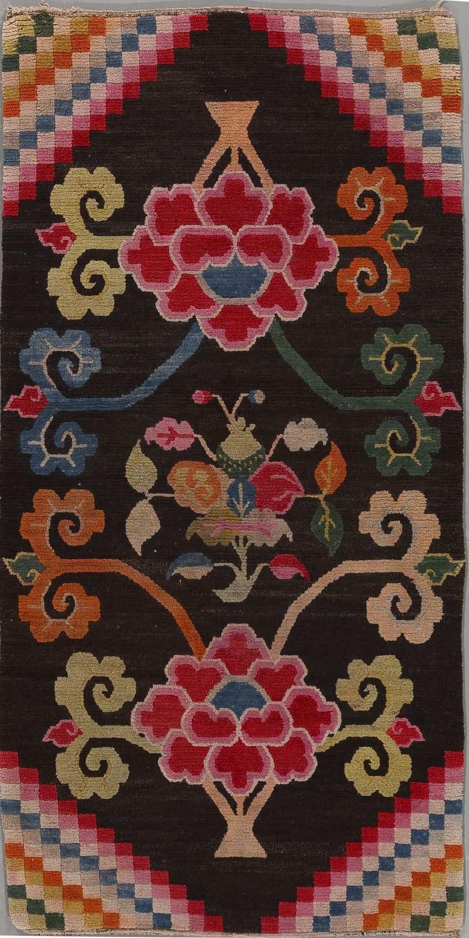 Antiker Tibet Teppich Aus Der Mischioff Chinese Collection Teppich Teppich Knupfen Antike