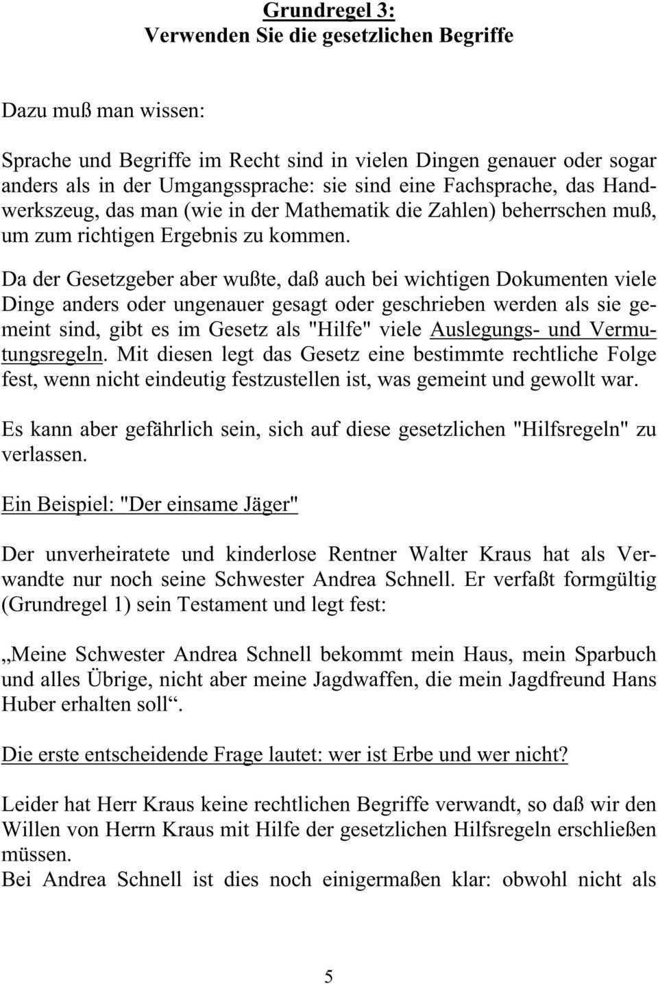 Testament Und Pflichtteil Tucken Und Fallen Pdf Free Download