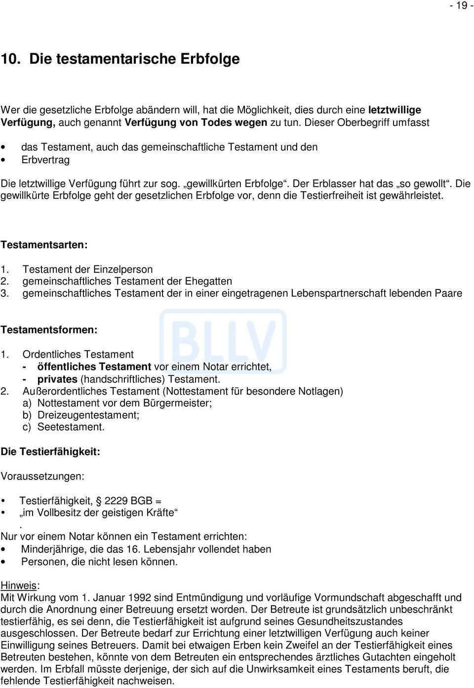 Informationsservice 5 Erbrecht Und Tod Pdf Kostenfreier Download
