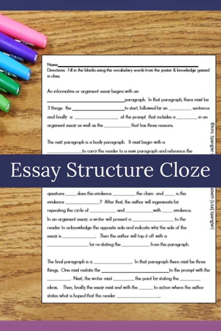 Pin On Text Based Essay Writing Lesson Plans For Middle School