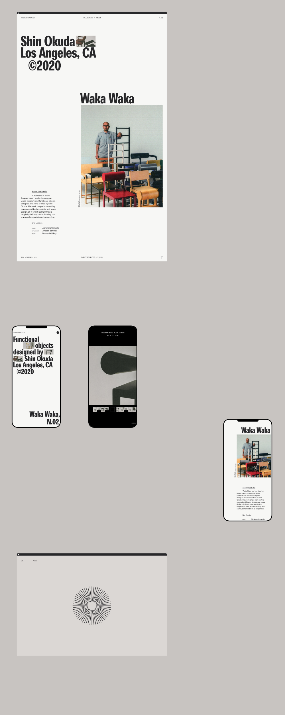 Waka Waka Collection N 02 On Behance In 2020 Composition Design Waka Waka Objects Design