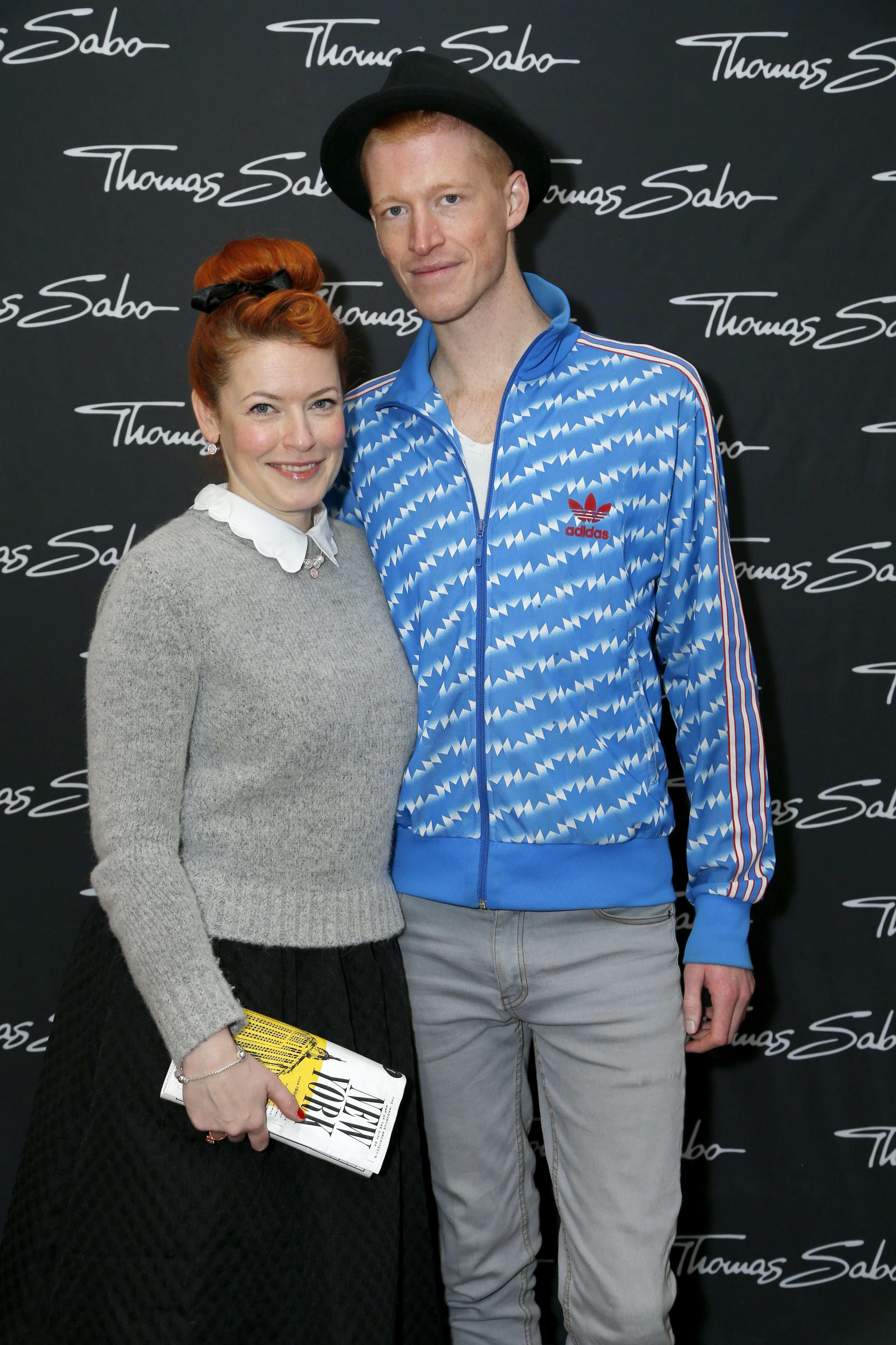 Enie Van De Meiklokjes And Tobias Staerbo At The Thomas Sabo Press Cocktail C Jessica Kassner Enie