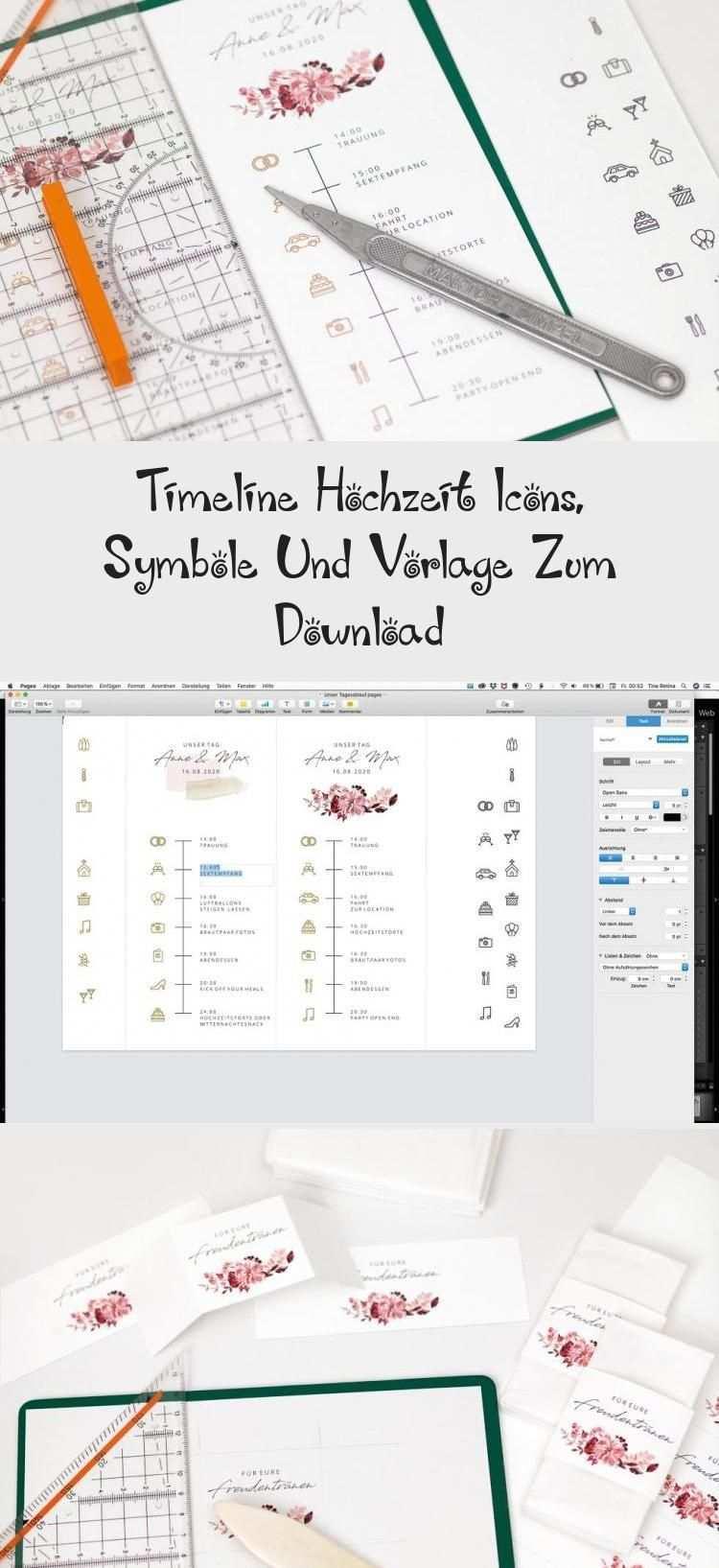 Timeline Hochzeit Icons Symbole Und Vorlage Zum Download Wedding Ardene Map