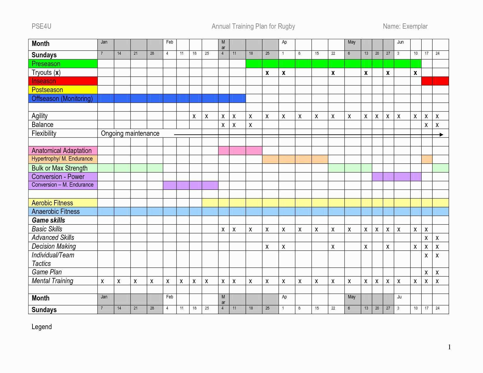 Excel Training Schedule Template Best Of Army Training Schedule Template Excel Schedule Template Workout Plan Template Excel Calendar Template
