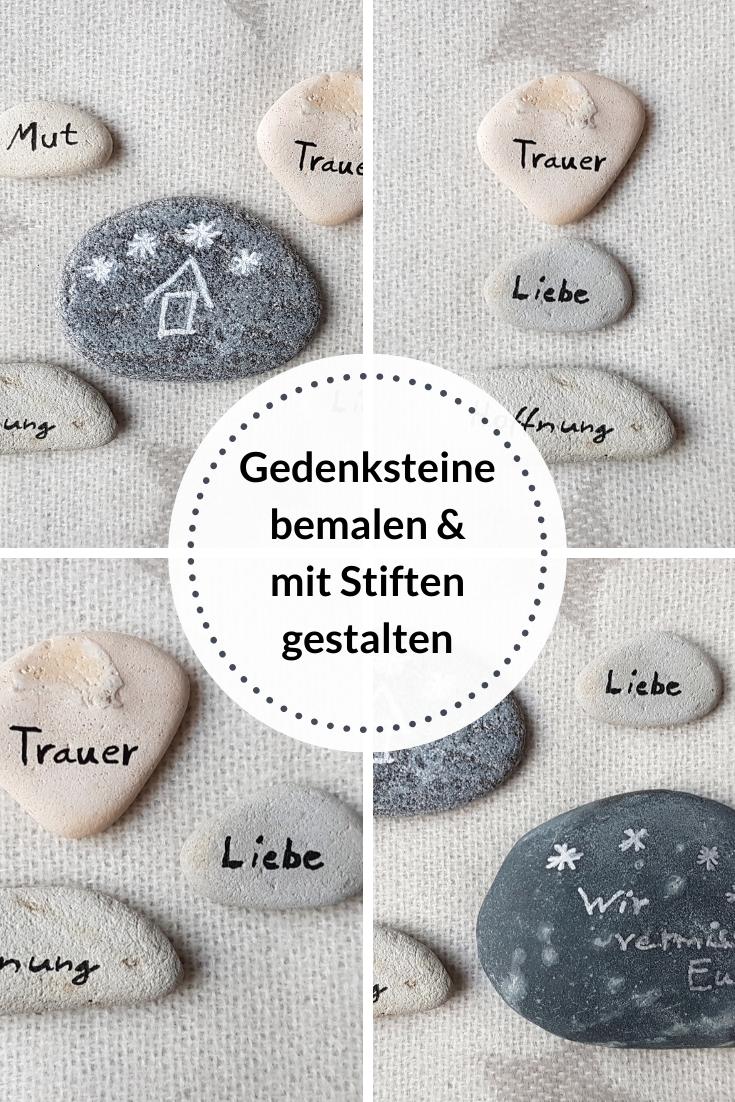 Gedenksteine Bemalen Mit Stiften Gestalten Gedenksteine Sternenkinder Geschenke Finden