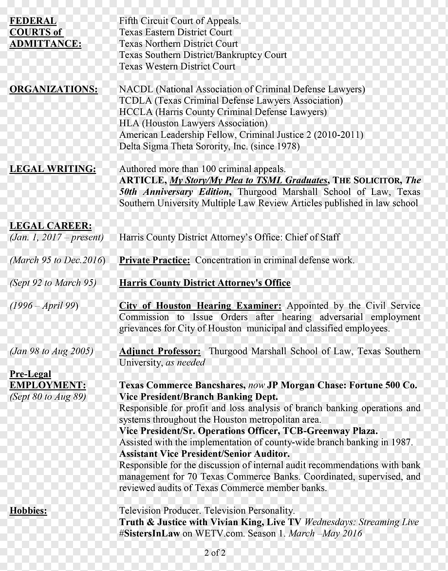 King Vivian R Resume Document Curriculum Vitae Template Private Practice Template Text Resume Png Pngwing