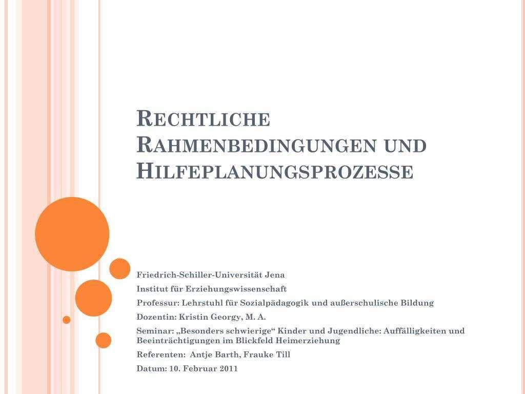 Ppt Rechtliche Rahmenbedingungen Und Hilfeplanungsprozesse Powerpoint Presentation Id 3780970