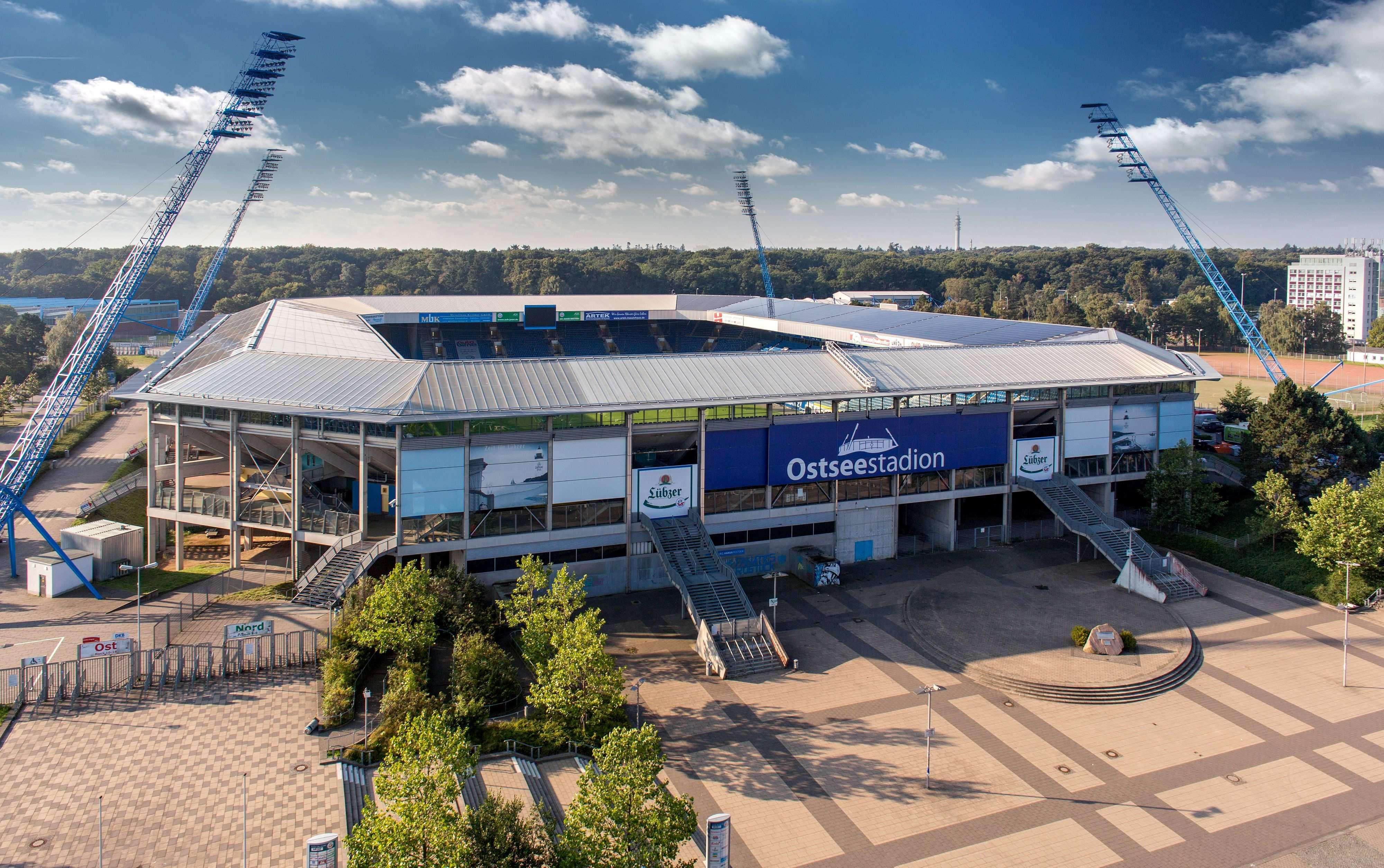 Volocam Stellt Euch Diese Fantastische Ostseestadion Aufnahme Zum Kostenlosen Download Zur Verfugung Hansa Rostock Rostock Hansestadt Rostock
