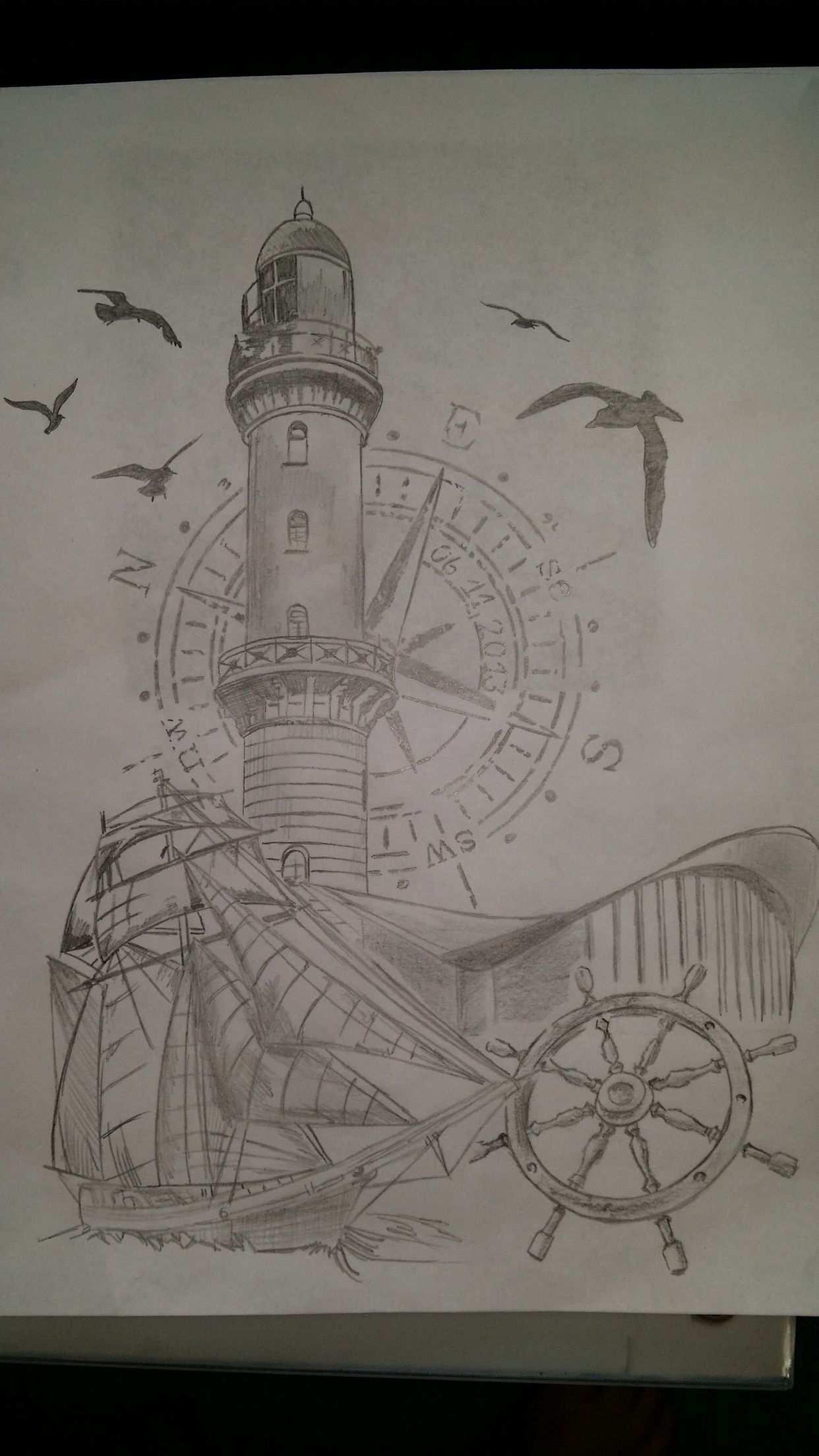 Leuchtturm Warnemunde Teepott Leuchtturm Warnemunde Leuchtturm Zeichnung Maritime Zeichnung