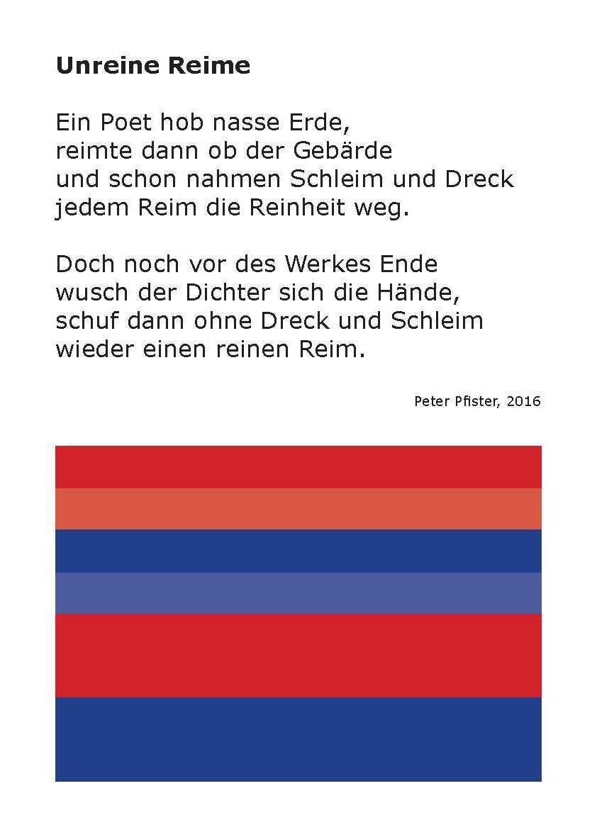 Unreine Reime Bernstein Verlag