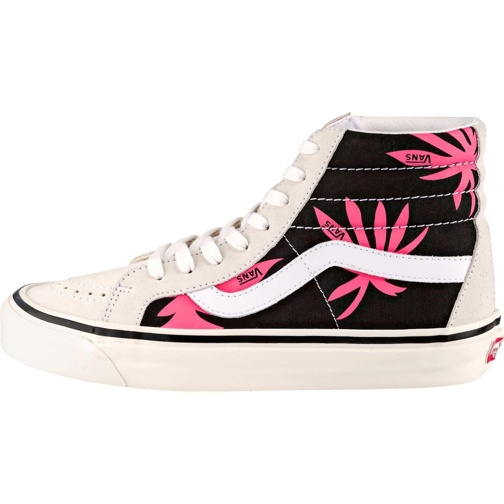 Vans Sneakers Ua Sk8 Hi 38 Dx Damen Beige Pink Schwarz Grosse 40 5 Vans Sneakers Vans Sneaker Damen Susse Schuhe