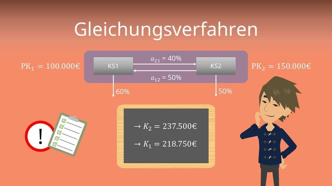 Gleichungsverfahren Definition Formel Und Beispiel Mit Video