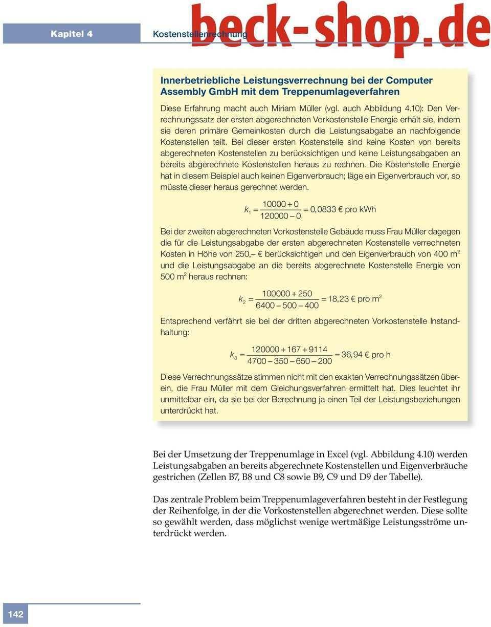 4 4 Verfahren Der Innerbetrieblichen Leistungsverrechnung Pdf Free Download