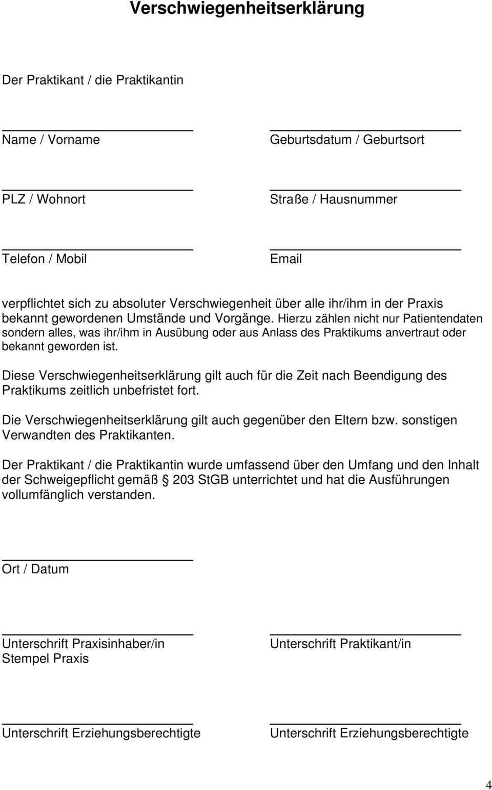 Praktikum In Der Zahnarztpraxis Pdf Kostenfreier Download