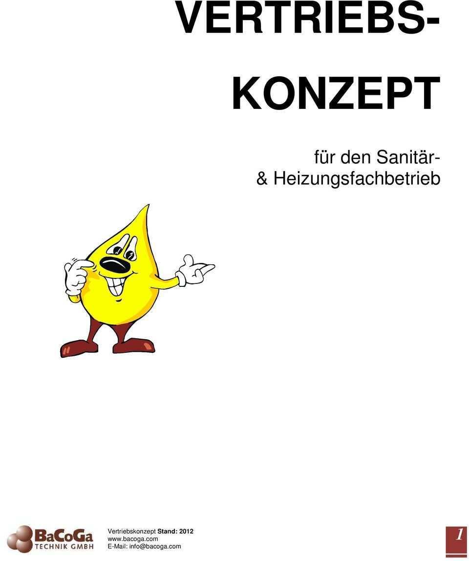 Vertriebs Konzept Fur Den Sanitar Heizungsfachbetrieb Vertriebskonzept Stand Pdf Free Download