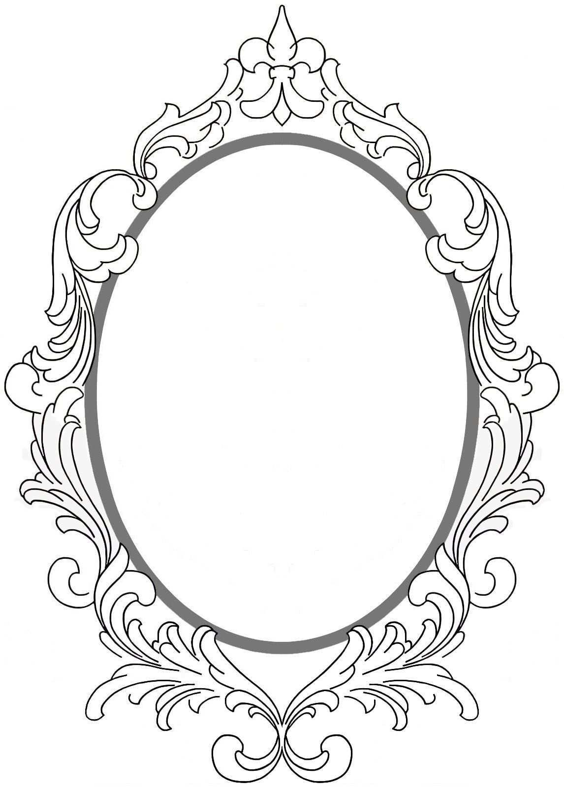 Rahmen Framed Tattoo Mirror Tattoos Vintage Frames