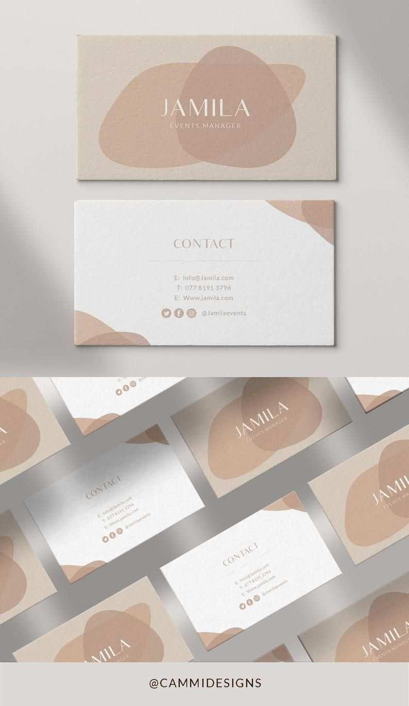 Visitenkarte Design Vorlage 8211 Perfekt Fur Fotografen Make Up Kunstler B In 2020 Business Card Template Design Graphic Design Business Card Business Card Design