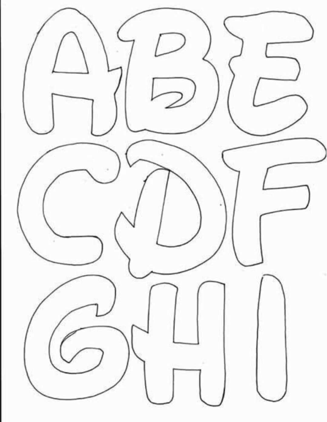 Pin Von Eli Auf Tipografia Letras In 2020 Buchstaben Schablone Alphabet Buchstaben Alphabet Schablonen