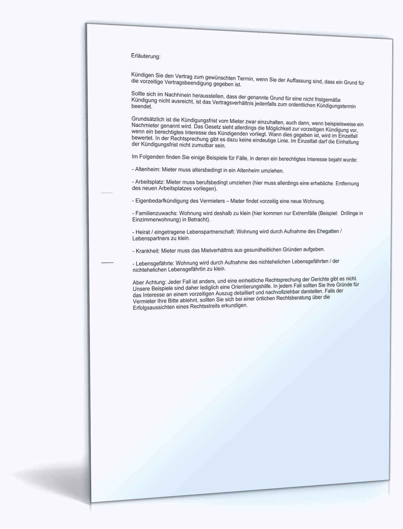Kundigung Mietvertrag Untermieter Vorlage Bewerbung Anschreiben Muster Vorlagen Vorlage Bewerbung