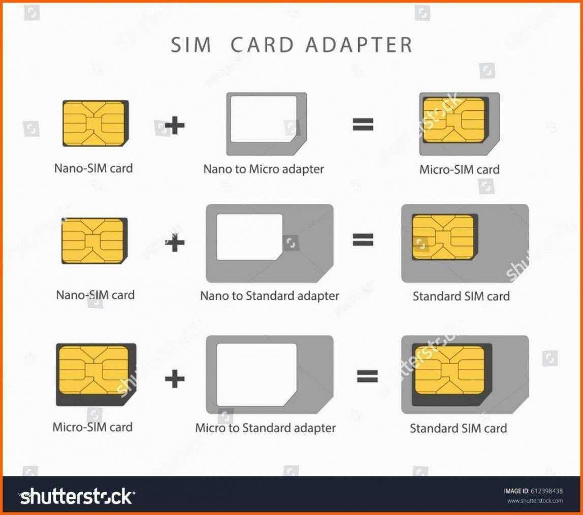Makellos Vorlage Micro Sim Zu Nano Sim In 2020 Template Design Card Design Business Plan Template