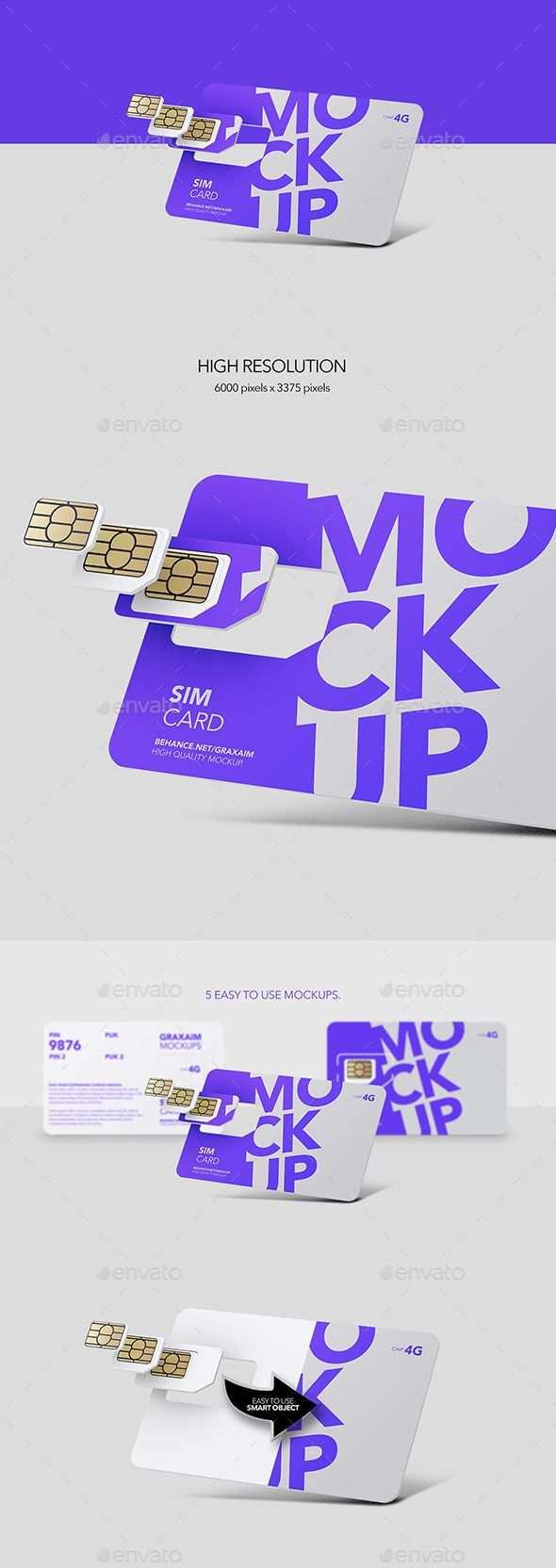 Sim Card Chip Mockup In 2020 Packaging Template Design Paper Nano Card Templates Printable