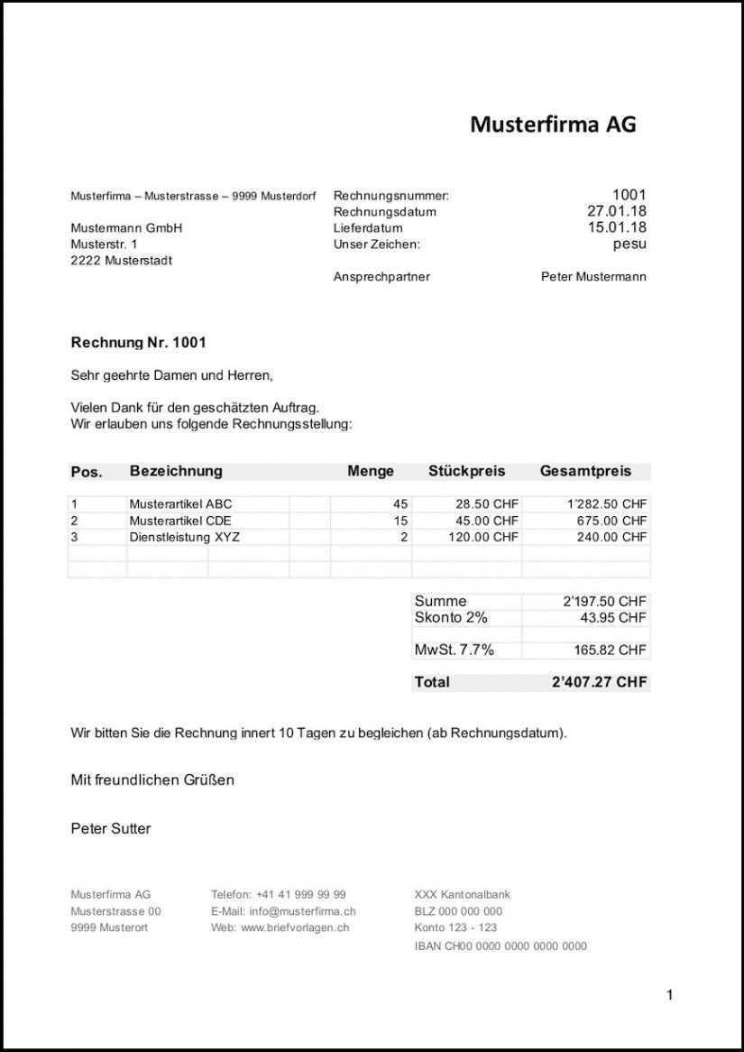 Scrollen Unsere Das Beispiel Von Rechnung Ohne Mwst Vorlage Rechnung Vorlage Rechnungsvorlage Briefvorlage Word