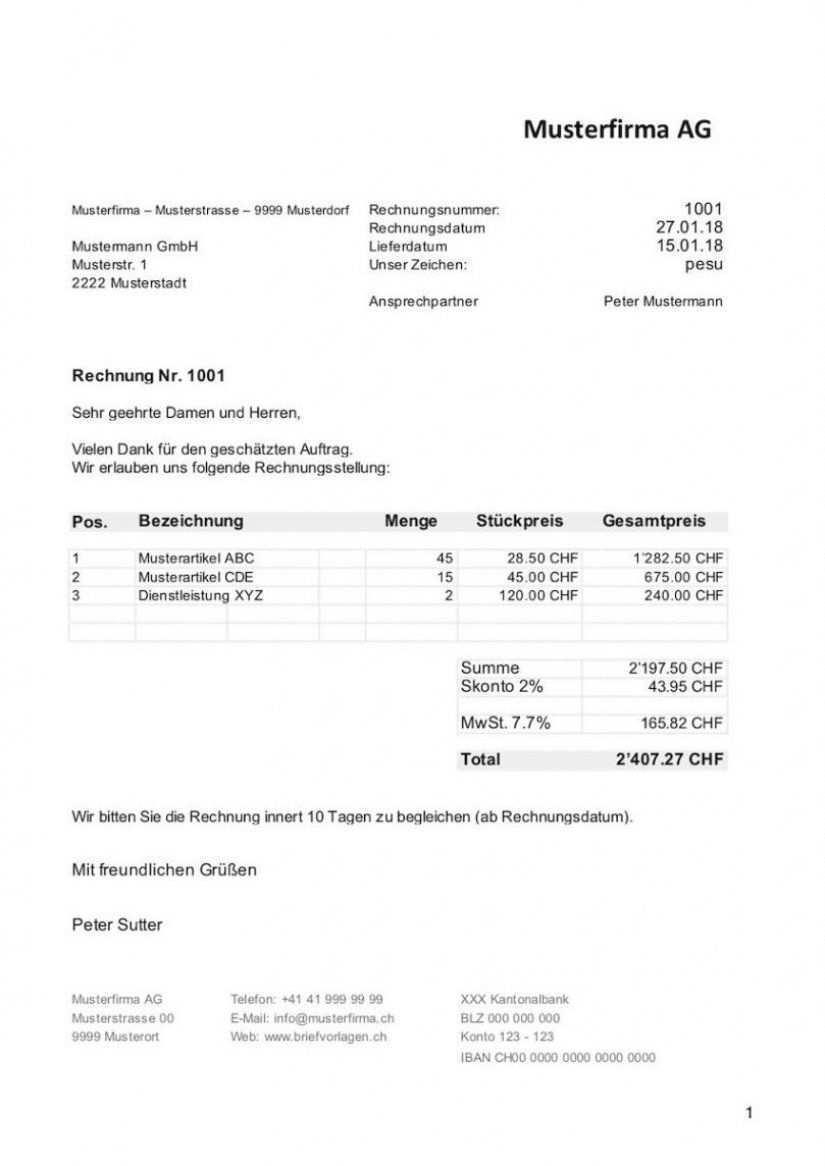 Das Sample Von Rechnungsvorlage Schweiz Im Word Amp Excelformat Kostenlos Rechnung Von Privat An Firma Vorlage Word In 2020 How To Do Yoga Sheet Music Dentist
