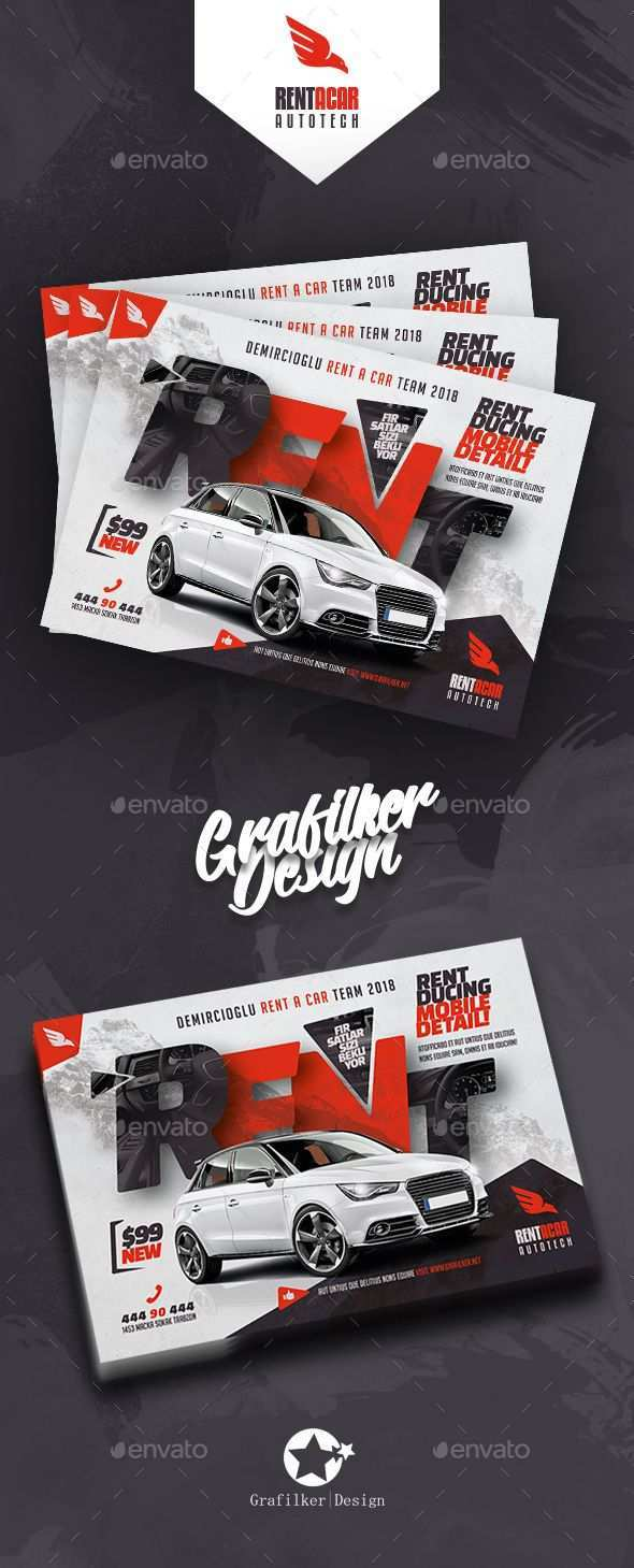 Rent A Car Flyer Templates Flyer Flyer Template Banner Ads Design