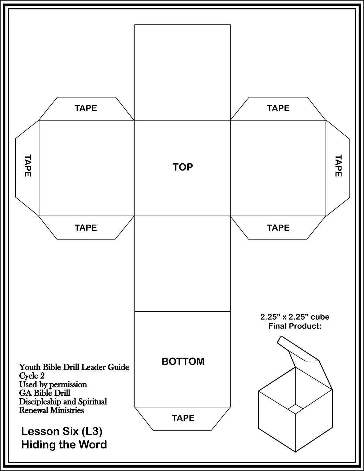 Printable Cardstock Template Paper Box Template Box Template Diy Gift Box