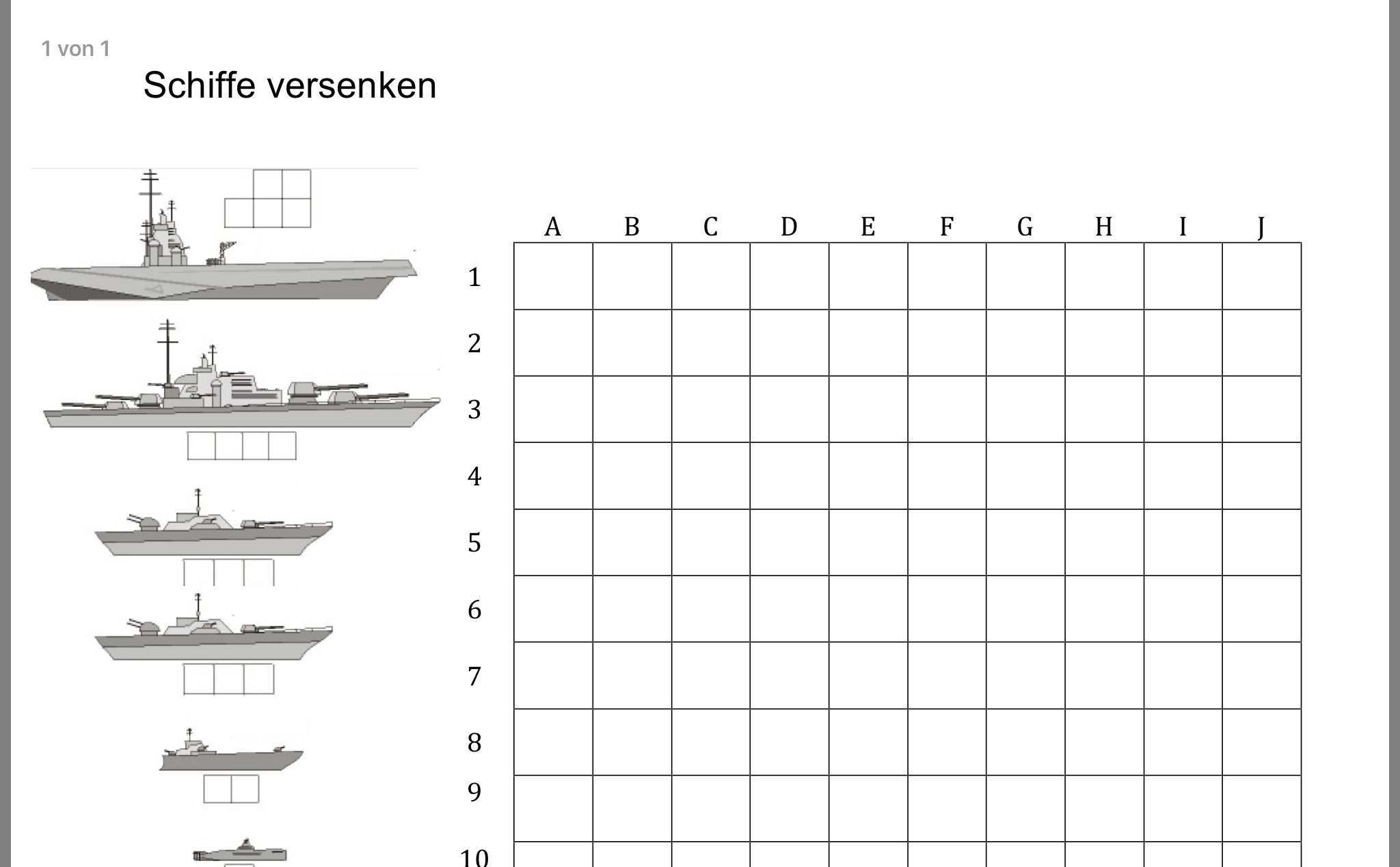 Pin Von Lepesub Auf Kinder Schiffe Versenken Vorlagen Schiff