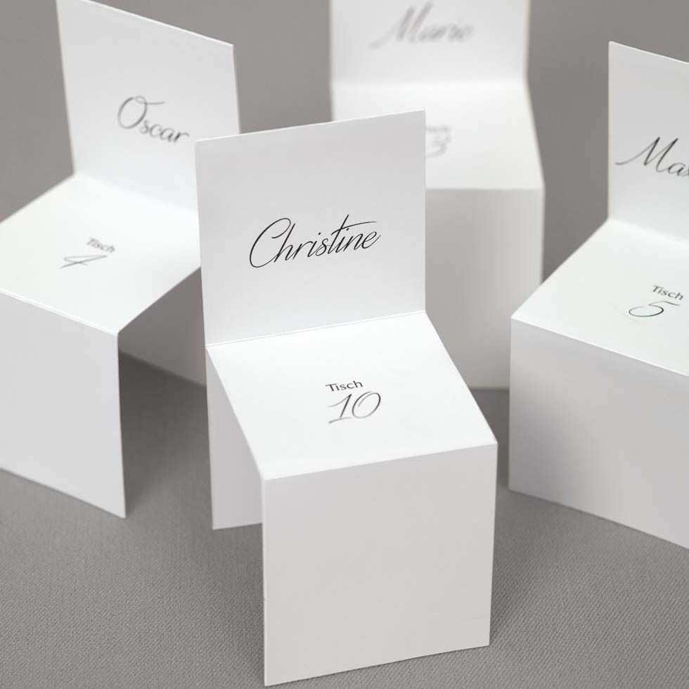 Platzkarten Stuhle Tischkarten Selber Basteln Tischkarten Konfirmation Tischkarten Vorlagen