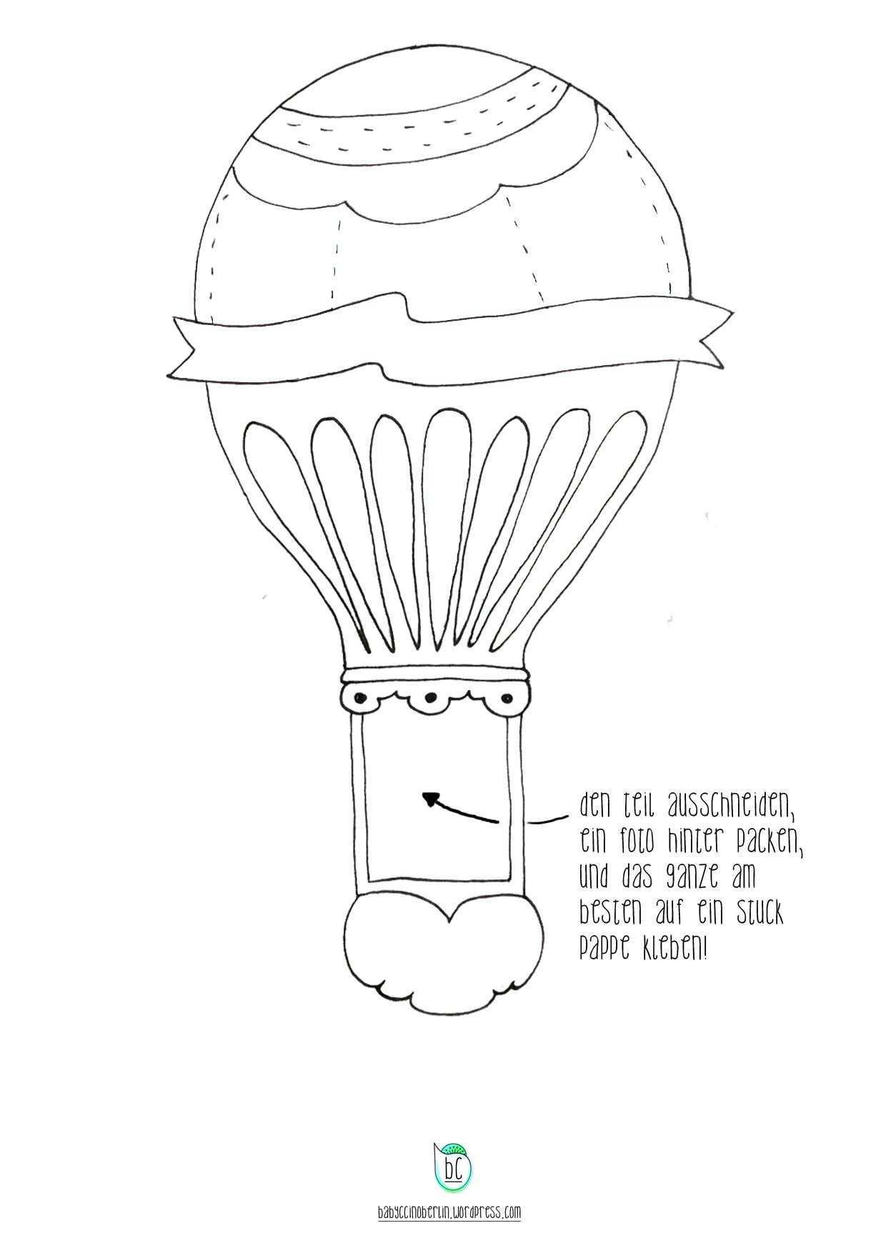 Wordpress Com Ausdrucken Wolken Heissluftballon