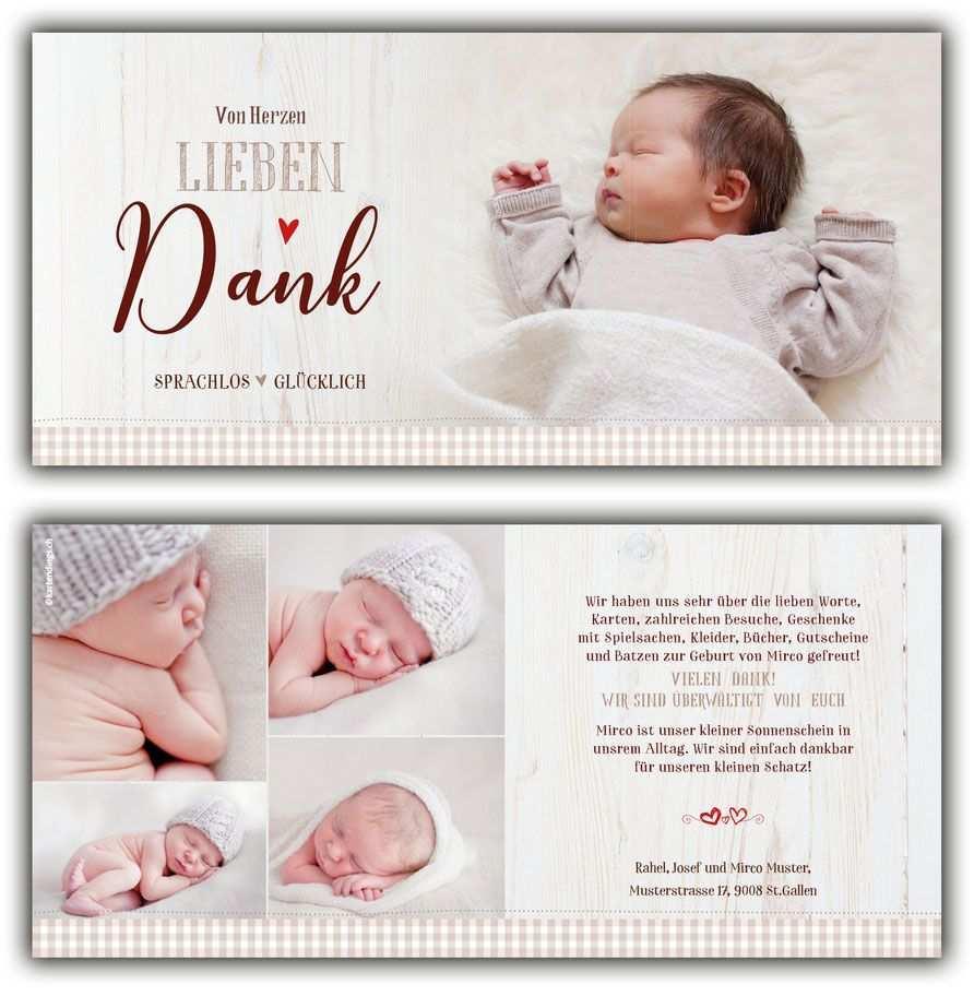 Dankeskarte Geburt Kartendings Ch Baby Dankeskarten Baby Gluckwunsche Dankeskarte Geburt