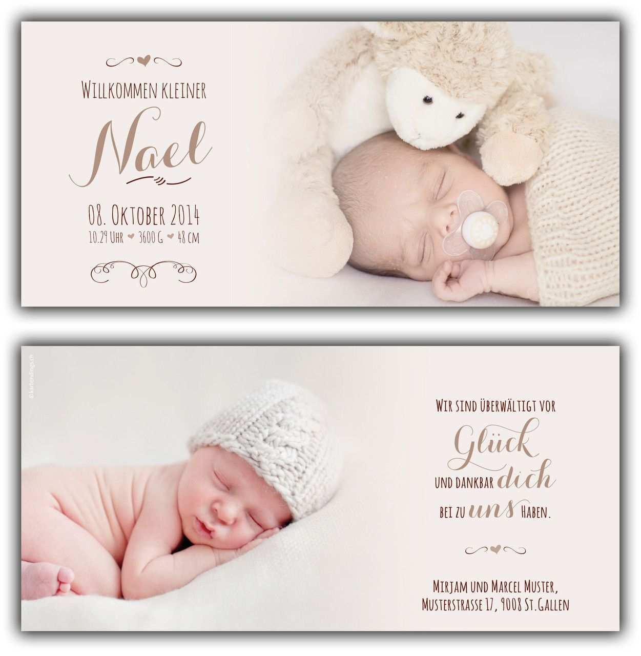 Nael Geburtskarte 210x100 Mm Karte Ist Auch In Ihrer Wunschfarbe Erhaltlich C Fotos Http Www Corinnec Geburtskarten Geburtskarten Baby Geburtsanzeige