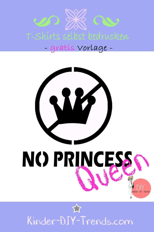 Vorlage Prinzessin Krone Fur T Shirt Druck Shirt Selbst Bedrucken Lettering T Shirt Neu Gestalten