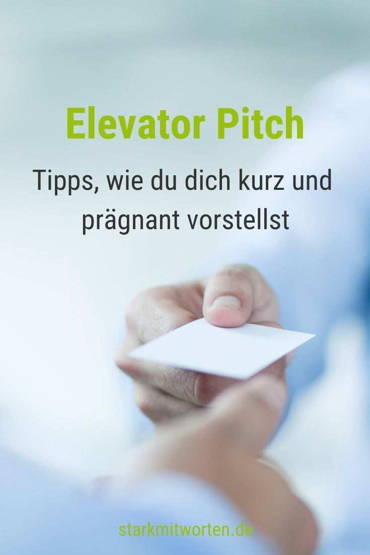 Elevator Pitch Und Was Machst Du Eigentlich So Beruflich Elevator Pitch Pitch Prasentation