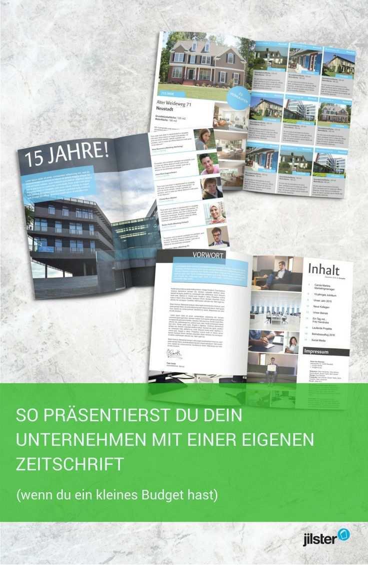Selbst Gestalten Katalog Imagebroschure Kundenmagazin Broschure Imagebroschure Katalog