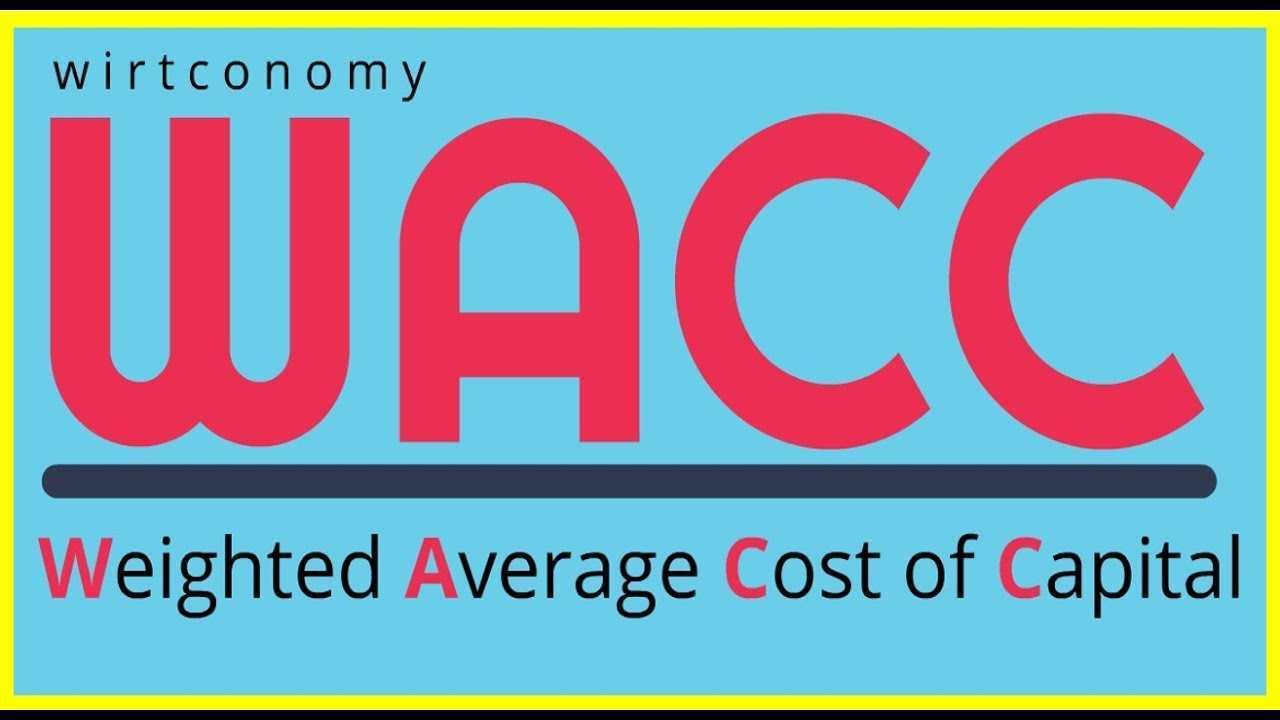 Wacc Einfach Erklart Beispiel Und Berechnung Wirtconomy Youtube