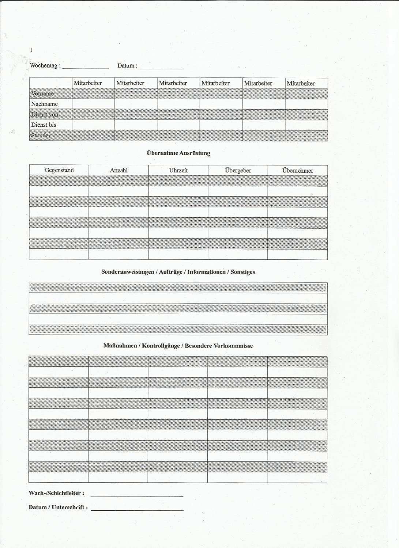 Wachbuch Fur Den Sicherheitsdienst Amazon De Gewerbe Industrie Wissenschaft