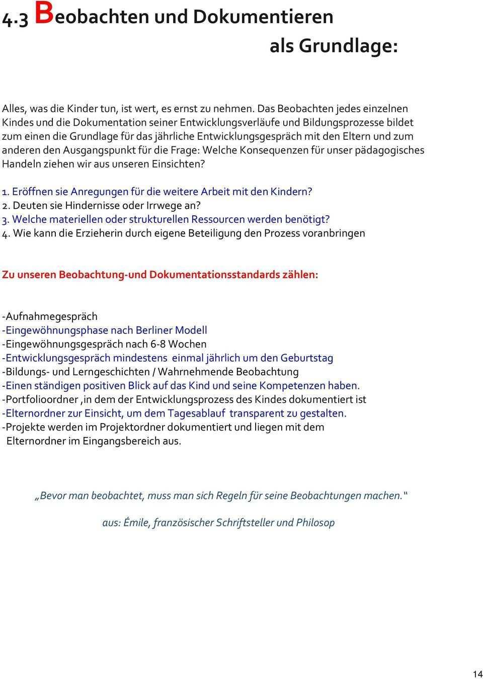 Konzeption Kinderhaus Schnakennest Mauerlesgasse Ilsfeld Auenstein Pdf Free Download
