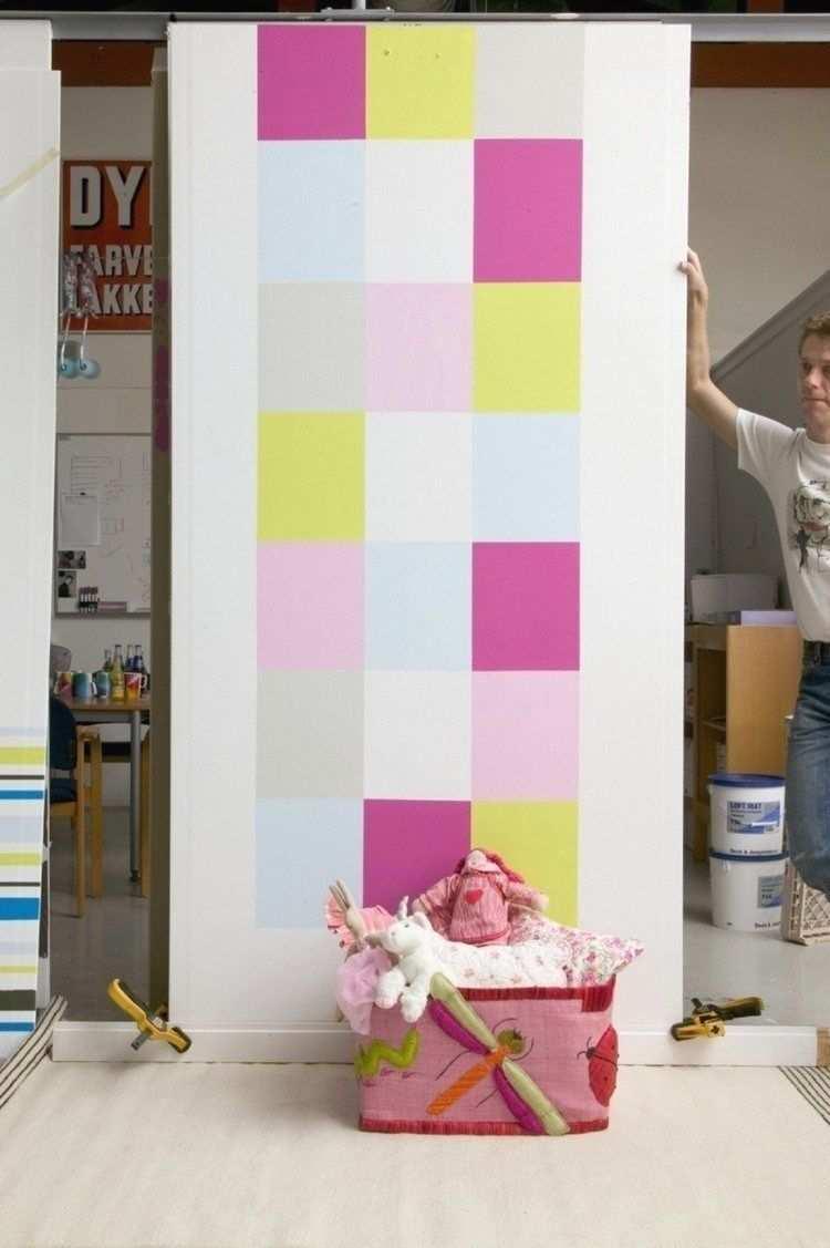 Wand Streichen Ideen Und Tipps Zu Muster Abkleben Beispiele In 2020 Wande Streichen Ideen Wohnideen Dekoration Wande Streichen