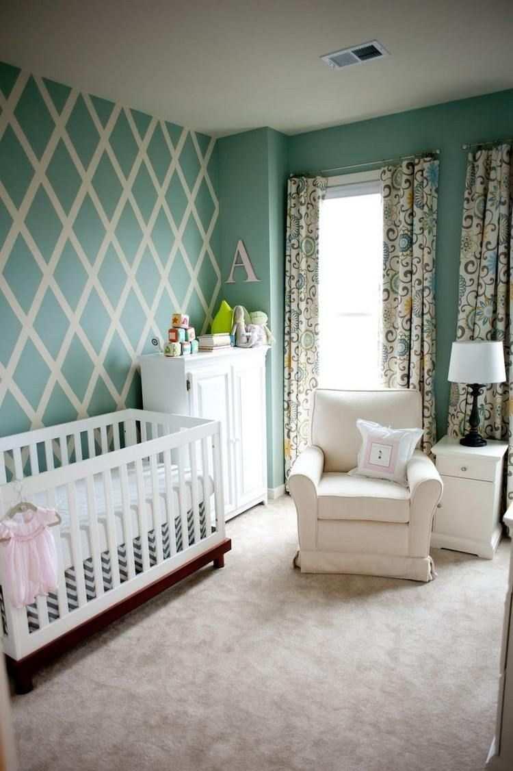 Wand Streichen Muster Und 65 Ideen Fur Einen Neuen Look Neutrale Babyzimmer Wande Streichen Wand Streichen Muster