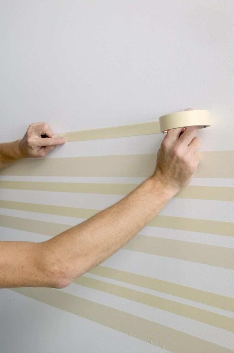 Wand Streichen Muster Und 65 Ideen Fur Einen Neuen Look Wande Streichen Wandmuster Wand Streichen Muster