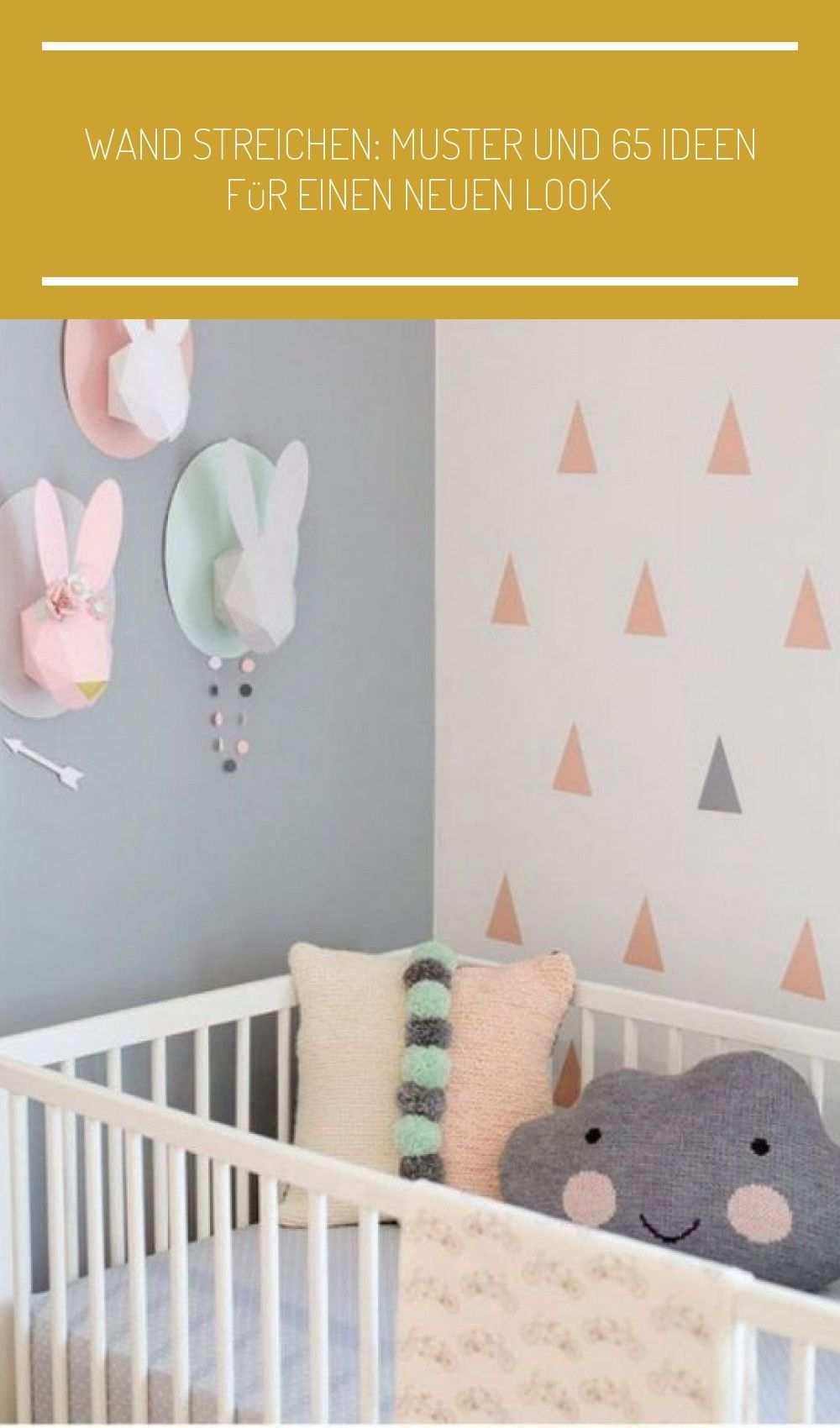 Wand Streichen Muster Und 65 In 2020 Home Decor Decals Home Decor Kids Rugs