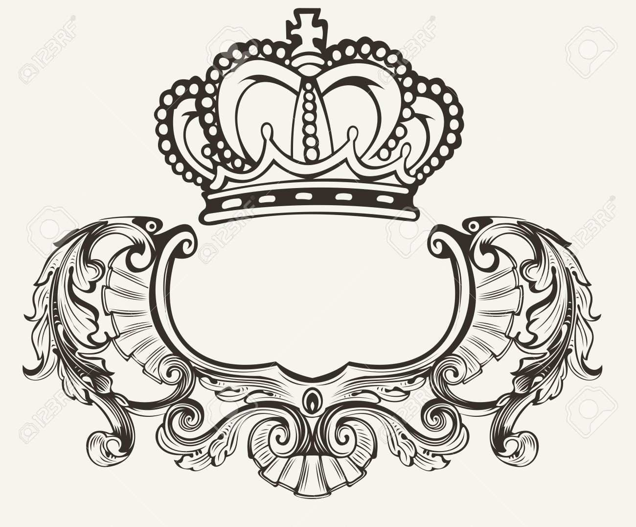 Pin Von Sawsan Chatty Auf Papan Mahkota Wappen Schablonen Muster