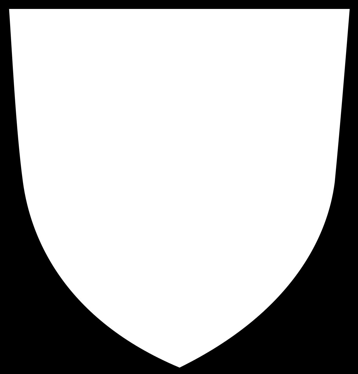 File Wappenschild Spitz Leer Svg Wikimedia Commons