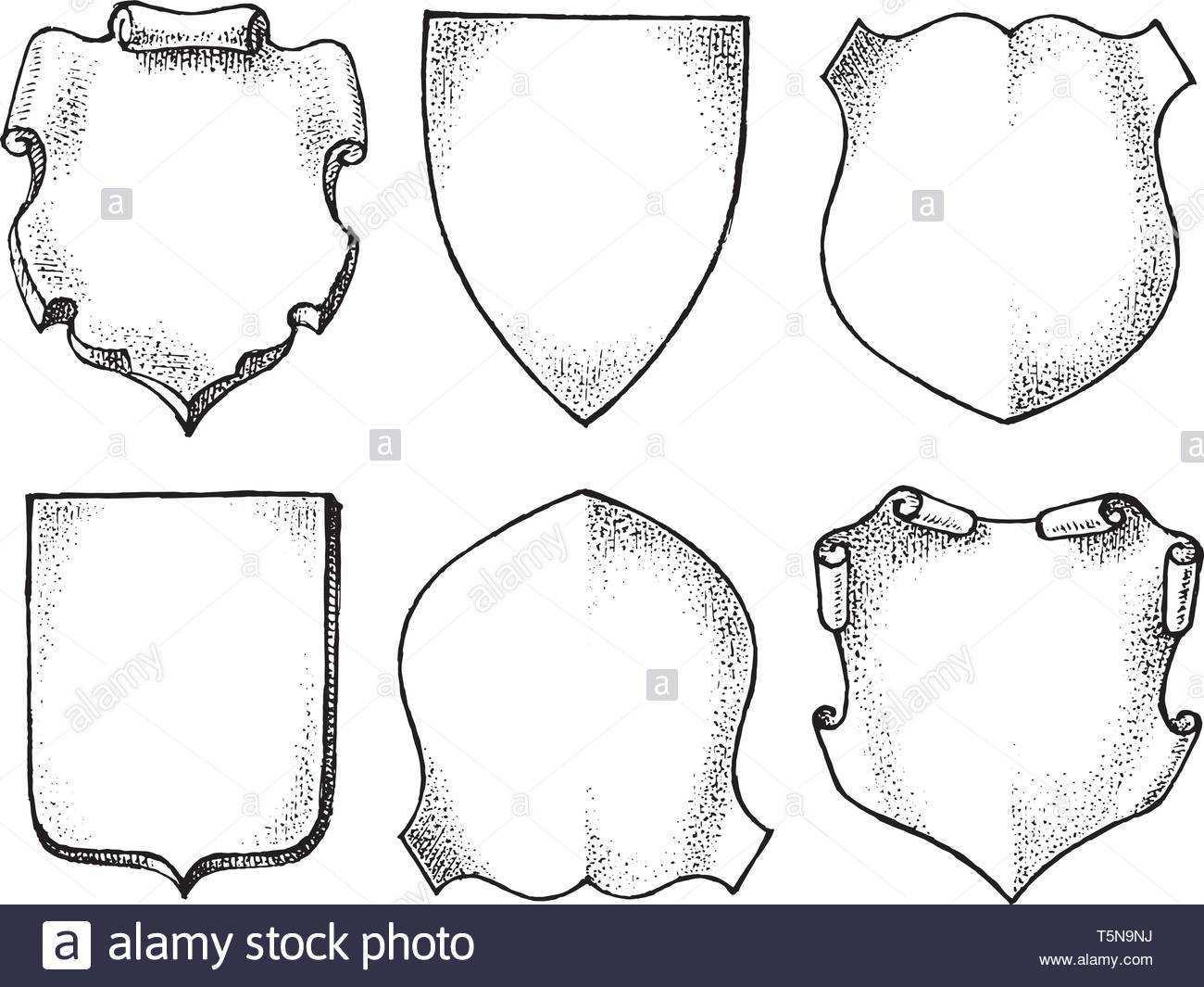 Wappenkunde Schwarzweiss Stockfotos Und Bilder Alamy