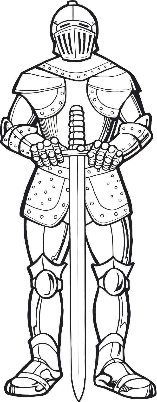 Knight Ausmalbilder Ritter Ausmalbilder Zum Ausdrucken Kostenlos Rustung Gottes